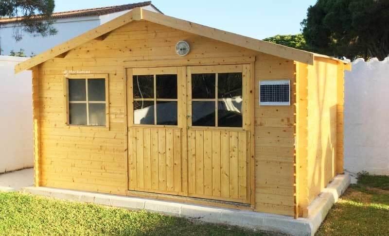 Las 5 casetas de madera más baratas del mercado 1
