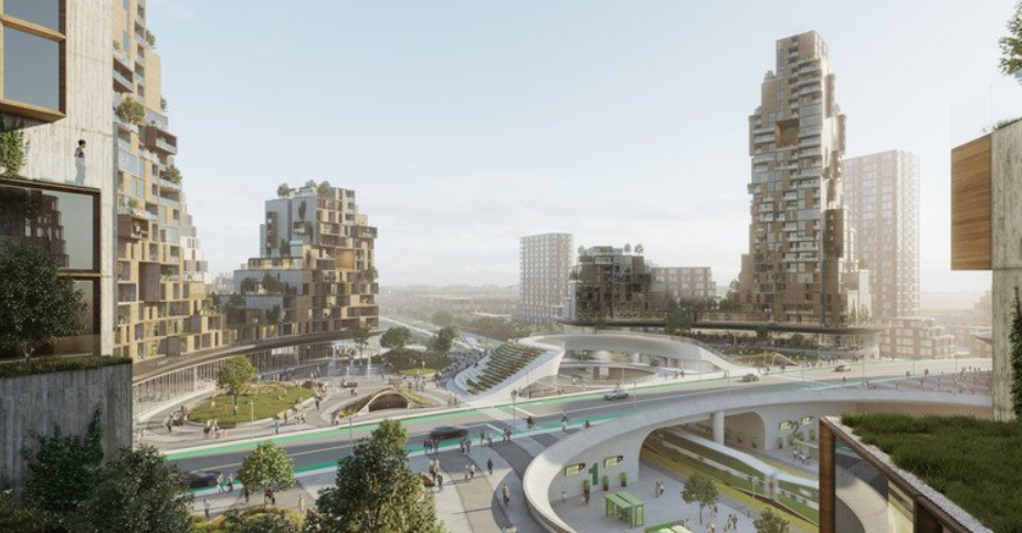partisans arquitectura - The Orbit, la ciudad del futuro proyecto de Canadá 6