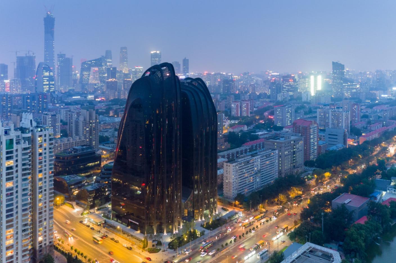 chaoyang park plaza plan: asi construye el futuro mad architects 4
