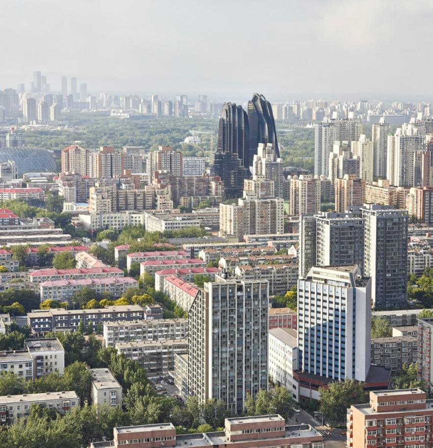 chaoyang park plaza plan: asi construye el futuro mad architects 3