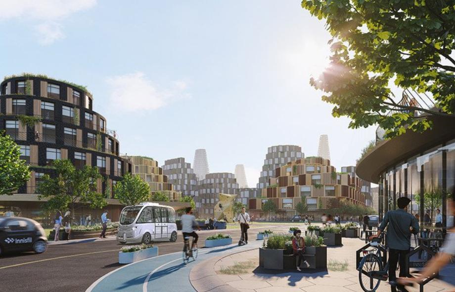 partisans arquitectura - The Orbit, la ciudad del futuro proyecto de Canadá 3