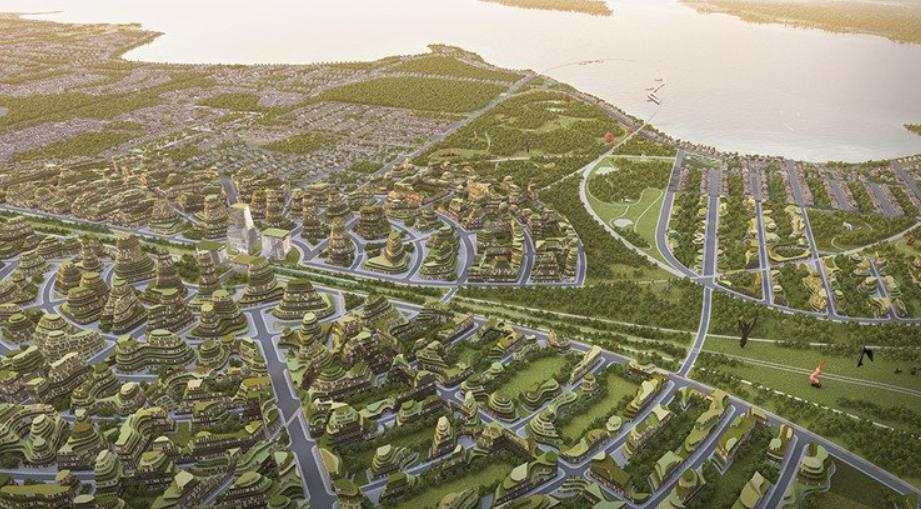 partisans arquitectura - The Orbit, la ciudad del futuro proyecto de Canadá 2