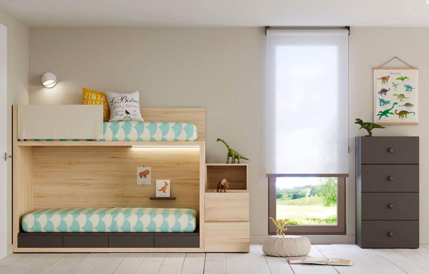 mobiliario vanguardista para decorar la habitación de los niños 2