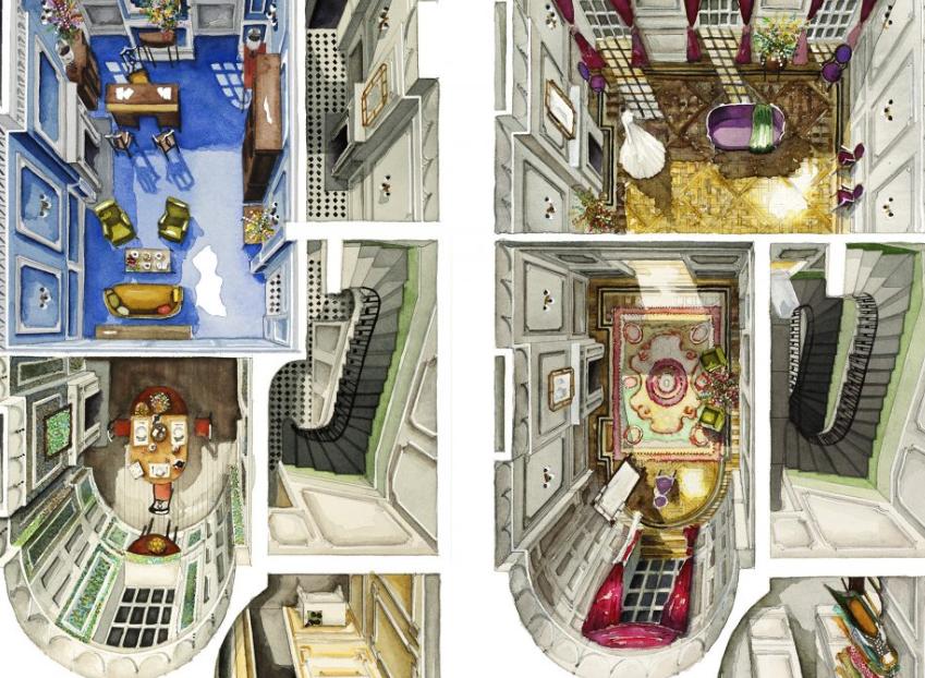los fascinantes planos basados en películas, de la arquitecta Boryana Ilieva 3