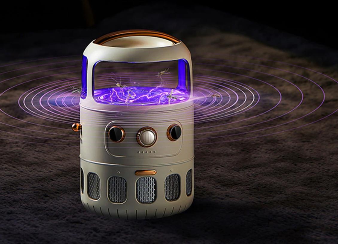 ¿La mejor lámpara antimosquitos para bebés? 6