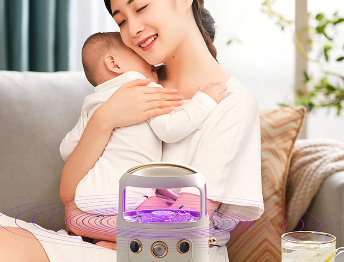 ¿La mejor lámpara antimosquitos para bebés? 1