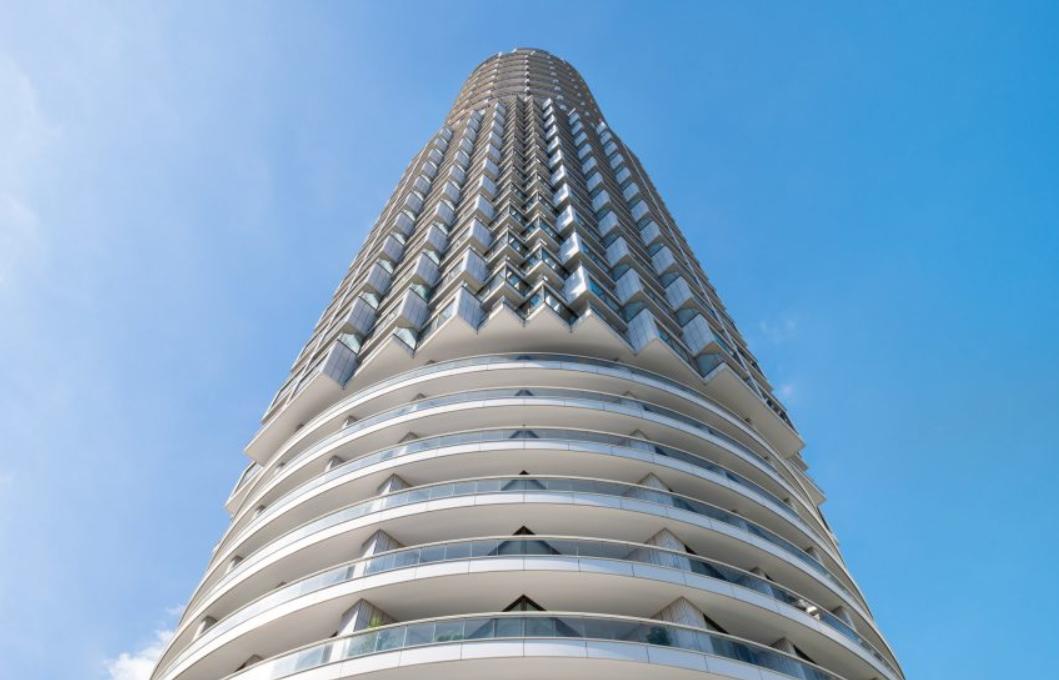estudios de arquitectura suiza: Herzog & de Meuron completó el rascacielos residencial One Park Drive 4