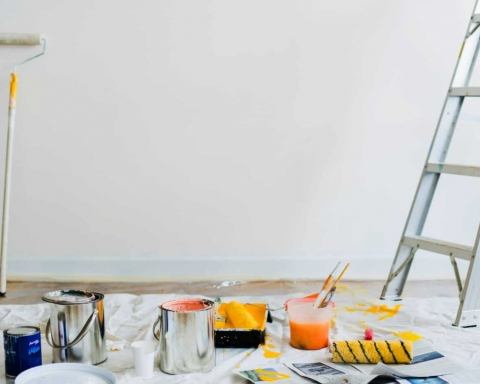 Cómo preparar la pared antes de pintar 31