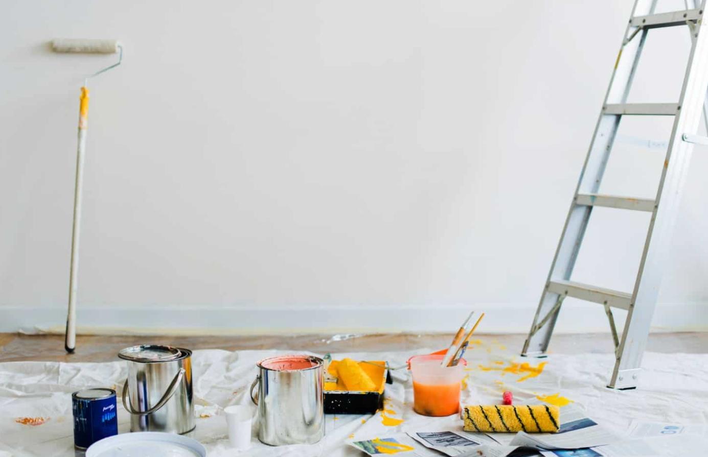 Cómo preparar la pared antes de pintar 1