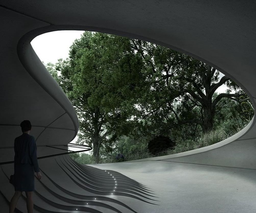 Diseñando la perfecta guarida subterránea para exhibición de autos estilo James Bond. 5