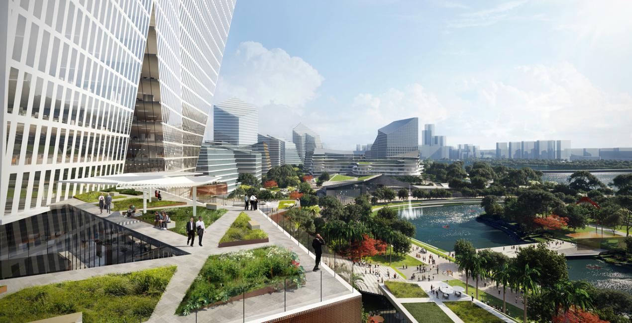 ¿cual es la ciudad mas futurista del mundo? ¿Net City, en Shenzhen? 1