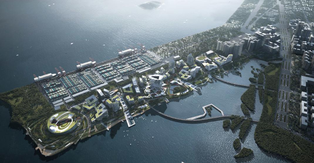 ¿cual es la ciudad mas futurista del mundo? ¿Net City, en Shenzhen? 4