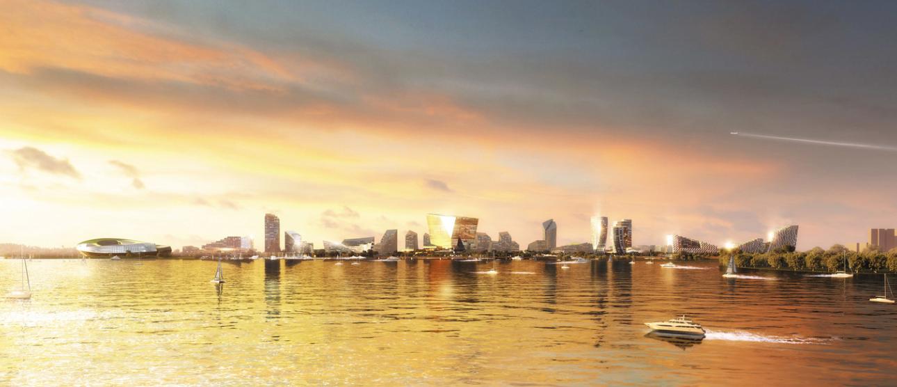¿cual es la ciudad mas futurista del mundo? ¿Net City, en Shenzhen? 2