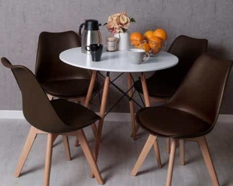conjunto mesa y sillas tower 25