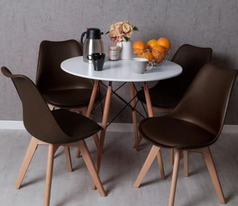 conjunto mesa y sillas tower 8