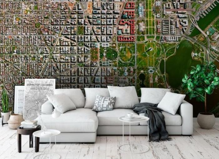 Cómo decorar la pared del sofá con cuadros