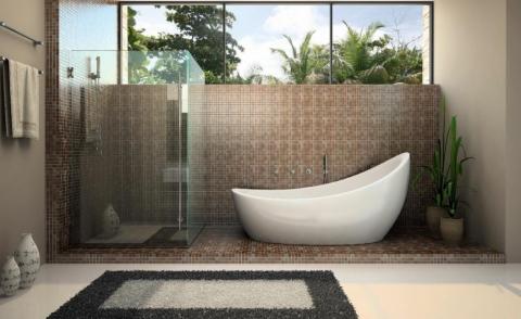 los platos de ducha para el baño del futuro 24