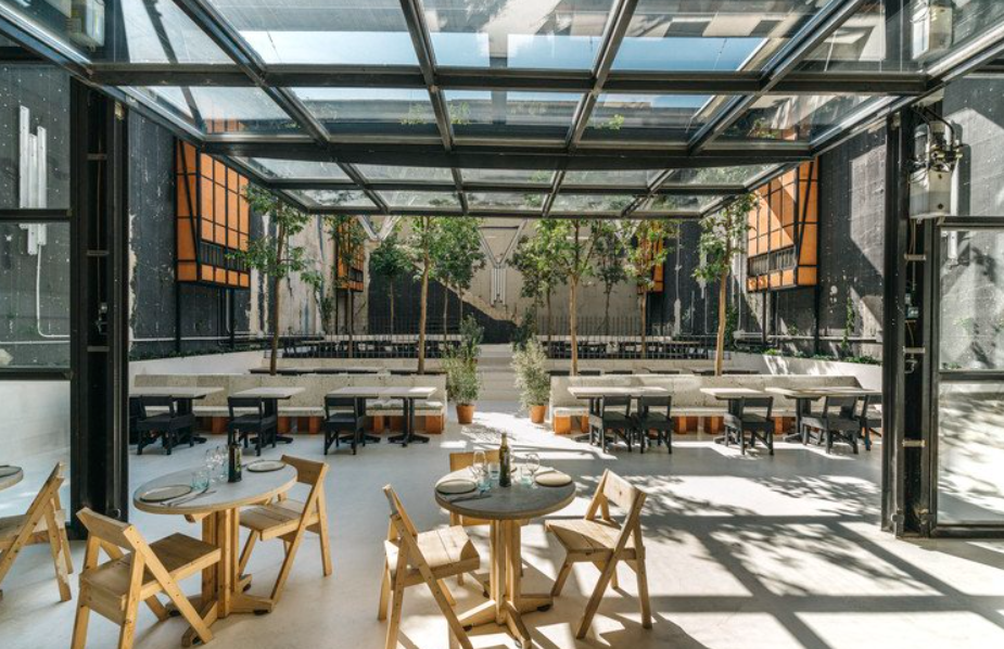 estudio lucas muñoz:un espacio de restauración diseñado en 2018 6