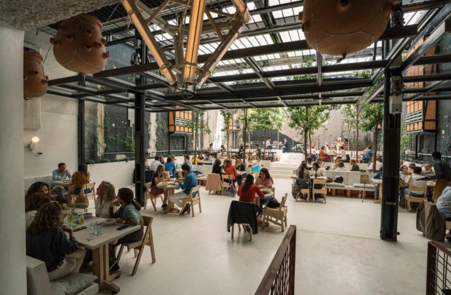 estudio lucas muñoz:un espacio de restauración diseñado en 2018 3