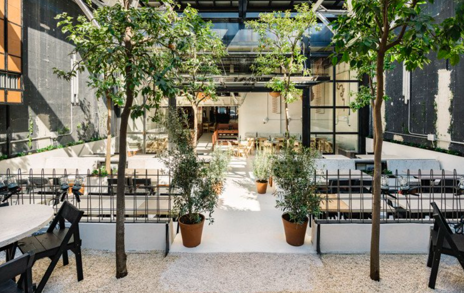 estudio lucas muñoz:un espacio de restauración diseñado en 2018 2