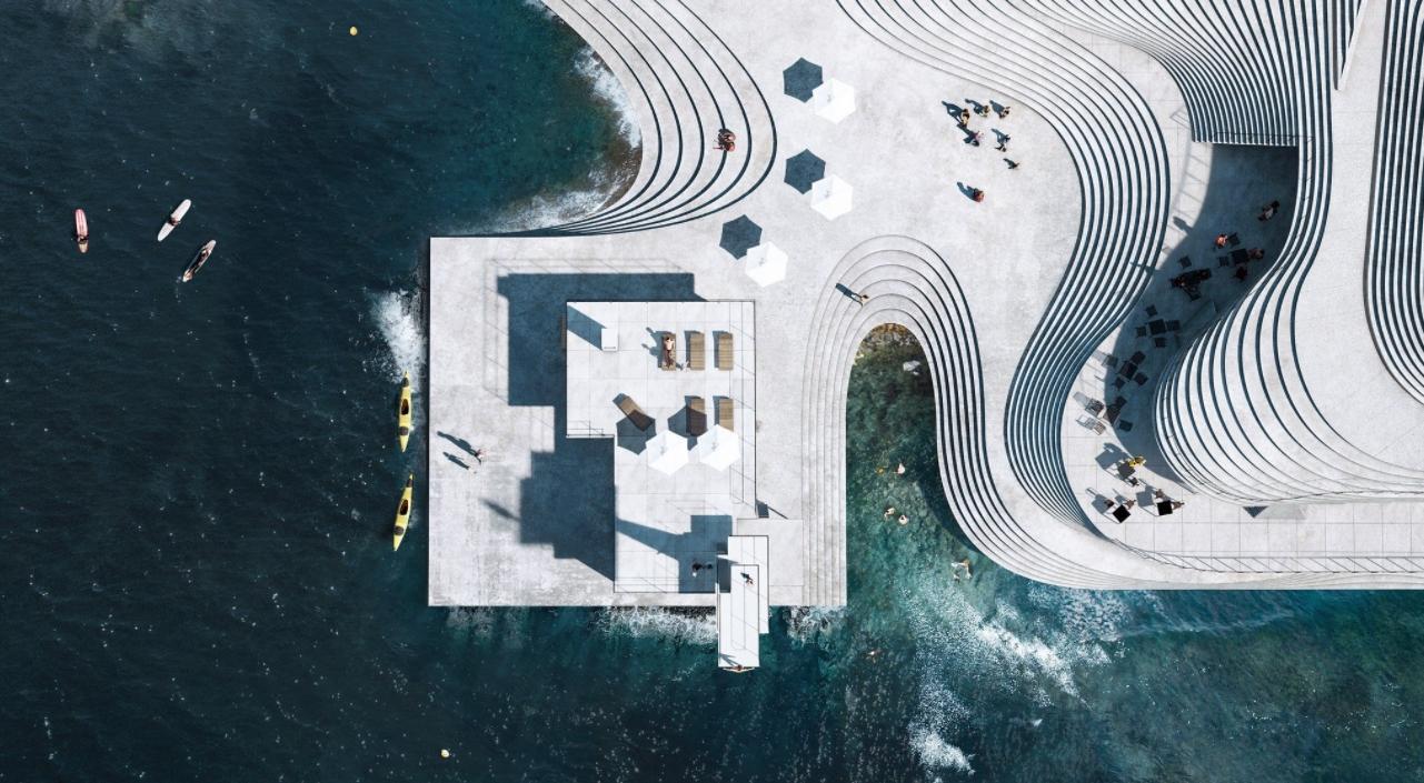 las piscinas más bonitas del mundo, las del puerto de Arendal en Noruega 1