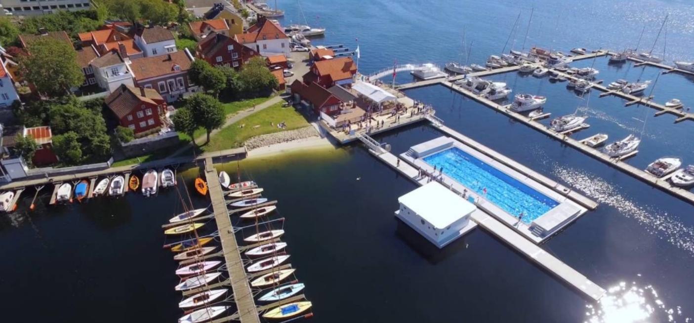 las piscinas más bonitas del mundo, las del puerto de Arendal en Noruega 7