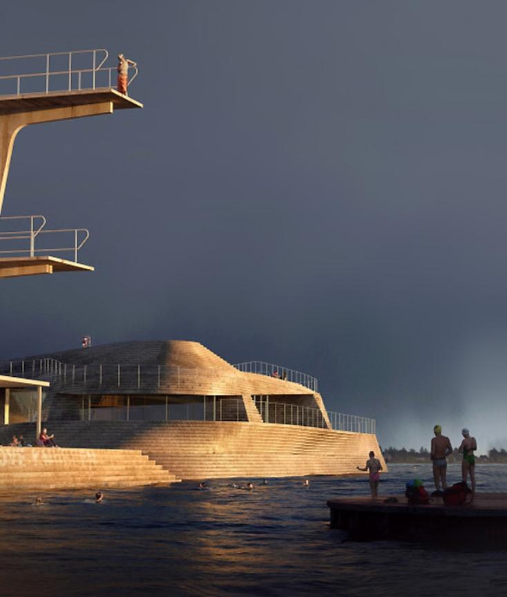 las piscinas más bonitas del mundo, las del puerto de Arendal en Noruega 10