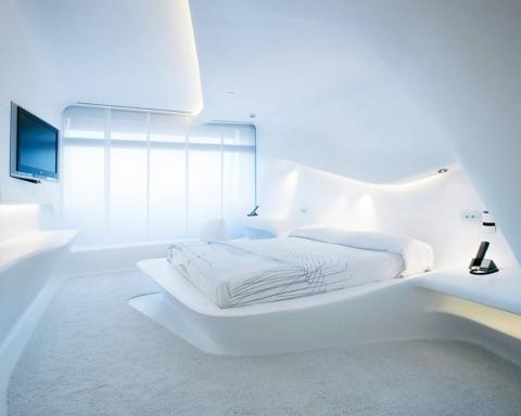 como será la habitación de hotel del futuro 23