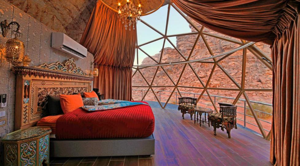 ¿vacaciones en marte? SI, en Jordania, en al Aicha Luxury Camp 4