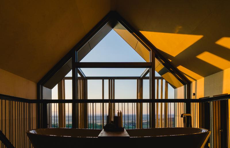 cabañas de madera en europa: The Spaces, en la región vinícola de Austria 2