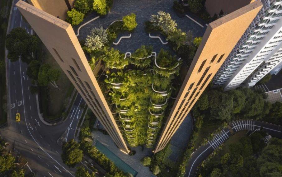 Heatherwick Studio: EDEN, un edificio de pisos lleno de naturaleza 3