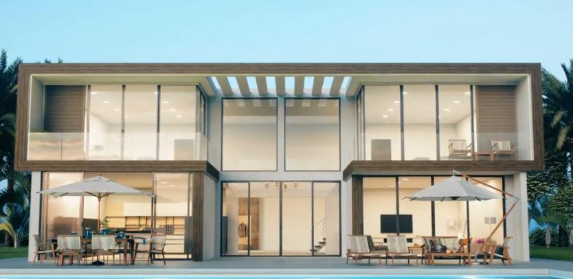 casas modulares prefabricadas modernas y su mantenimiento. 18
