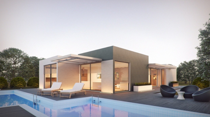 casas prefabricadas modernas modulares