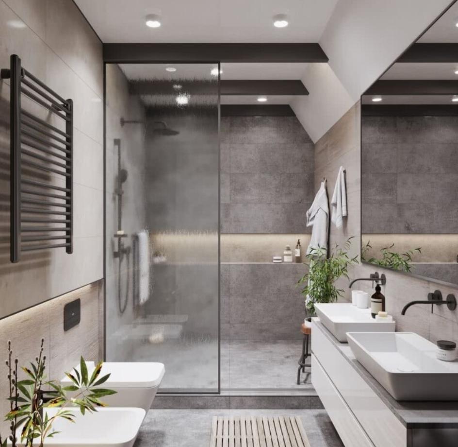 Mejores tipos de columnas de ducha para un baño moderno 3