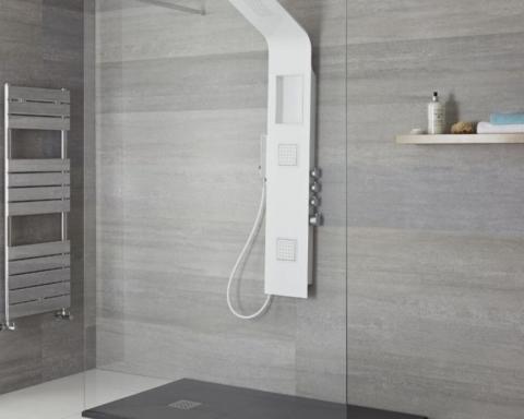 Mejores tipos de columnas de ducha para un baño moderno 32