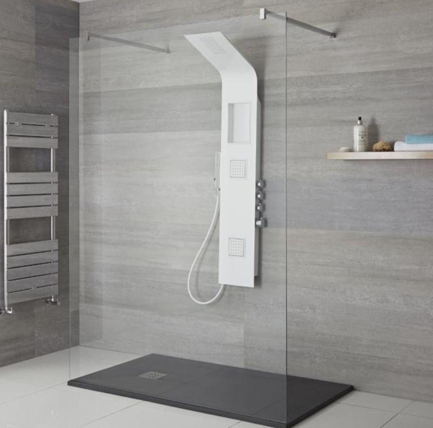Mejores tipos de columnas de ducha para un baño moderno 14