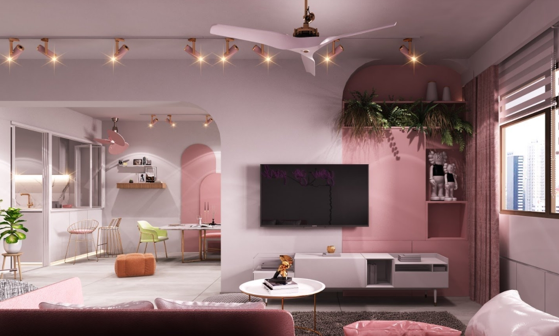 Por qué he llegado a amar la decoración retro en rosa 5