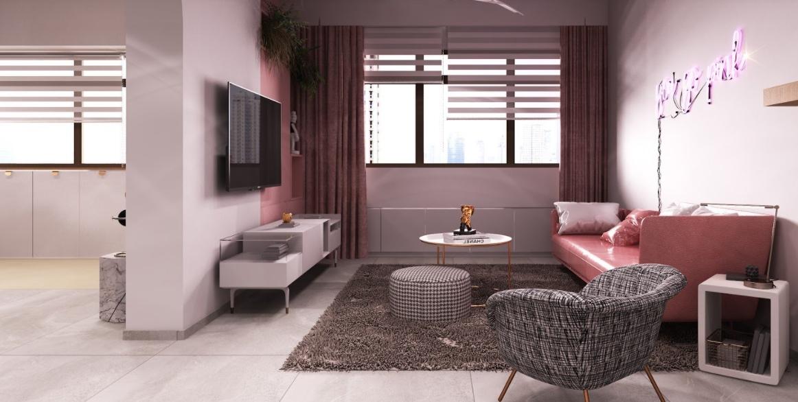 Por qué he llegado a amar la decoración retro en rosa 4