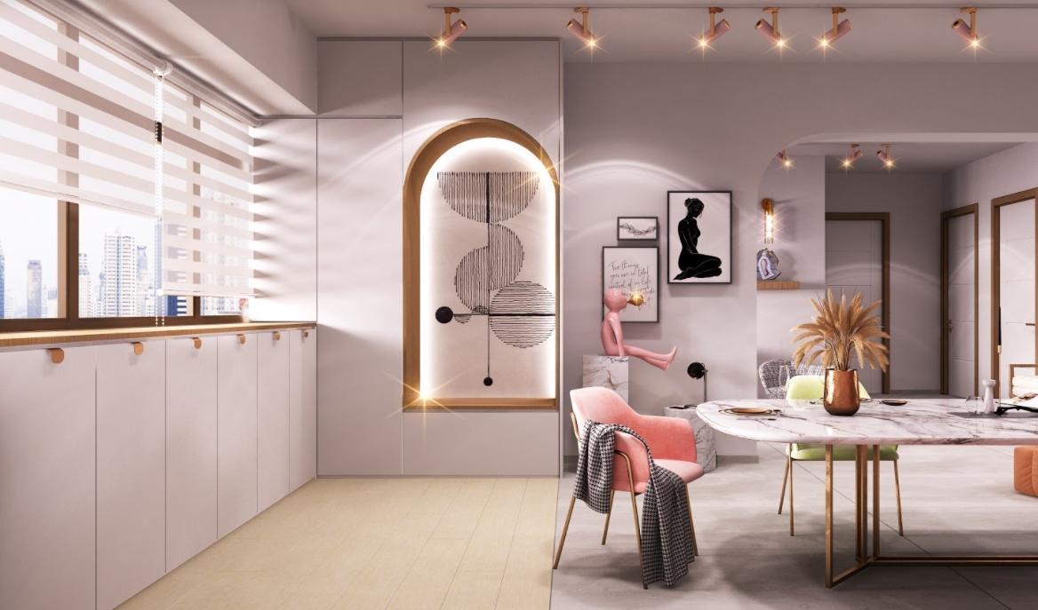 Por qué he llegado a amar la decoración retro en rosa 3