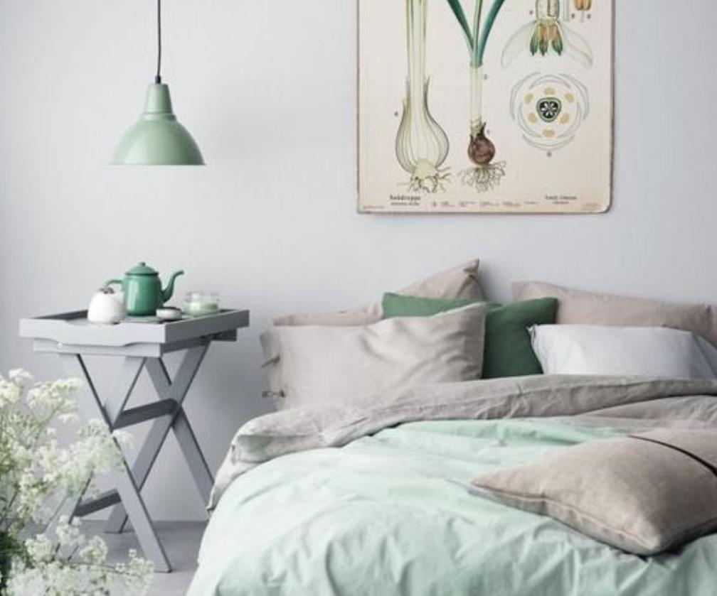 decoración y muebles en verdes 34
