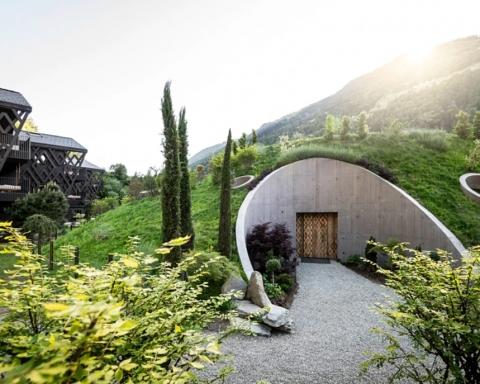hoteles de estilo nórdico:Apfelhotel Torgglerhof, como de Tolkien 11
