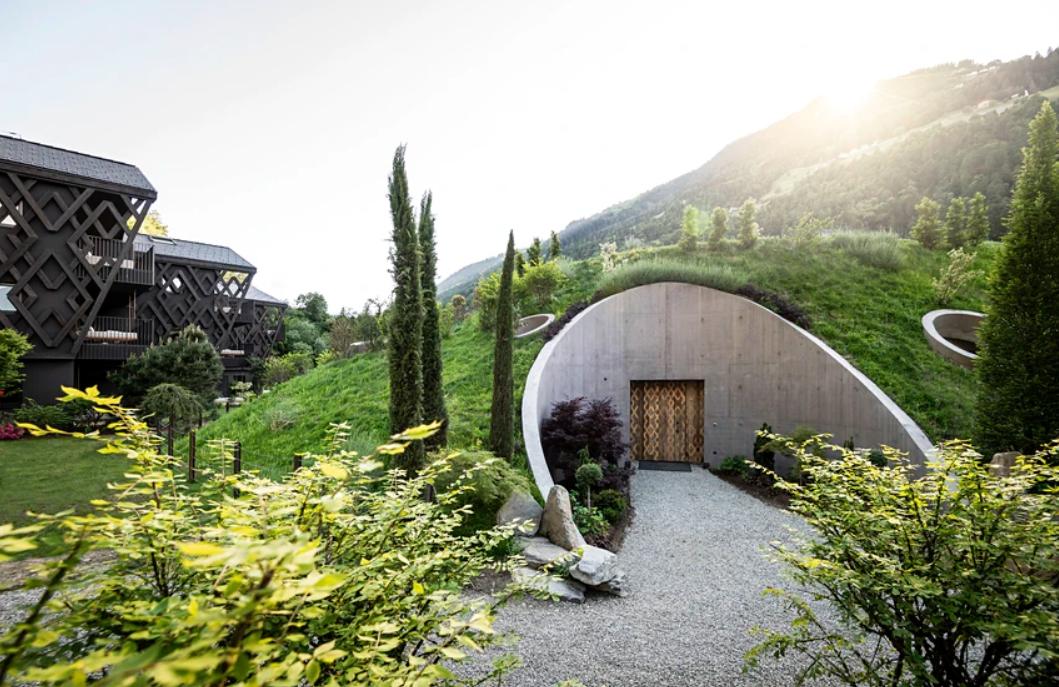 hoteles de estilo nórdico:Apfelhotel Torgglerhof, como de Tolkien 1