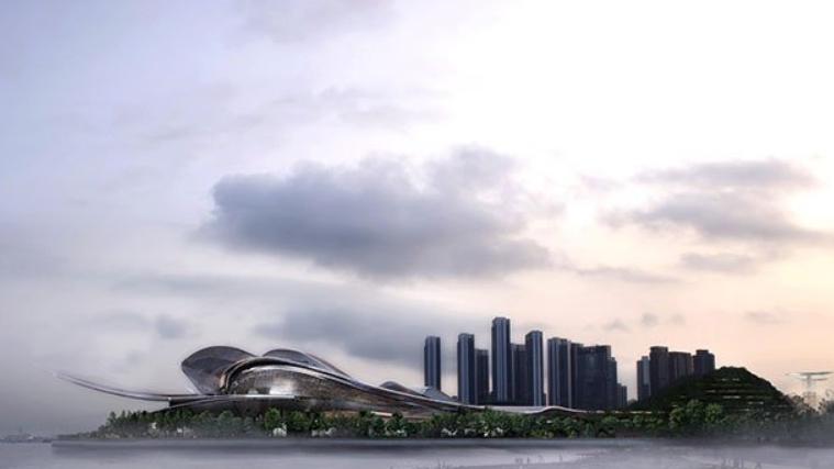 arquitectura moderna en china: la nueva Ópera de Shenzhen 25