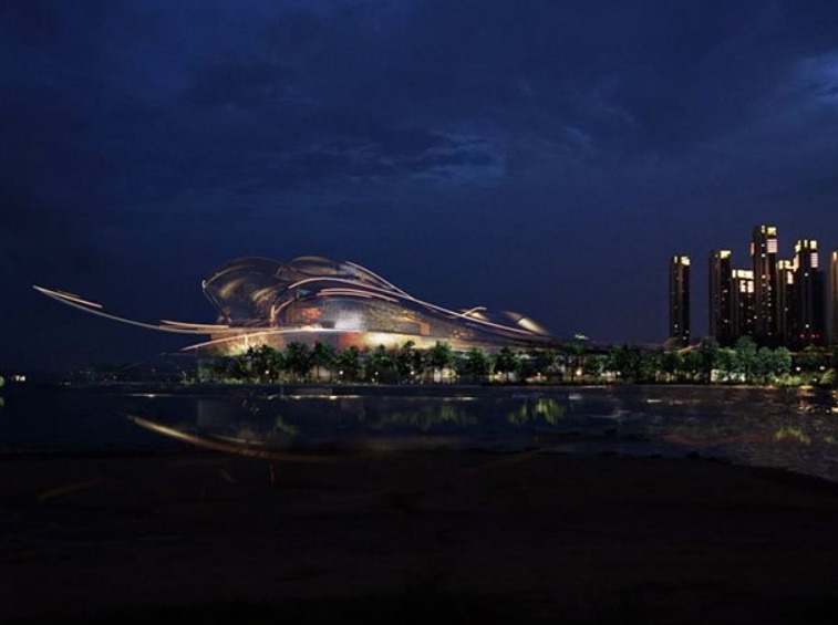arquitectura moderna en china: la nueva Ópera de Shenzhen 2