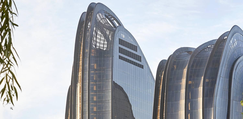chaoyang park plaza plan: asi construye el futuro mad architects 10