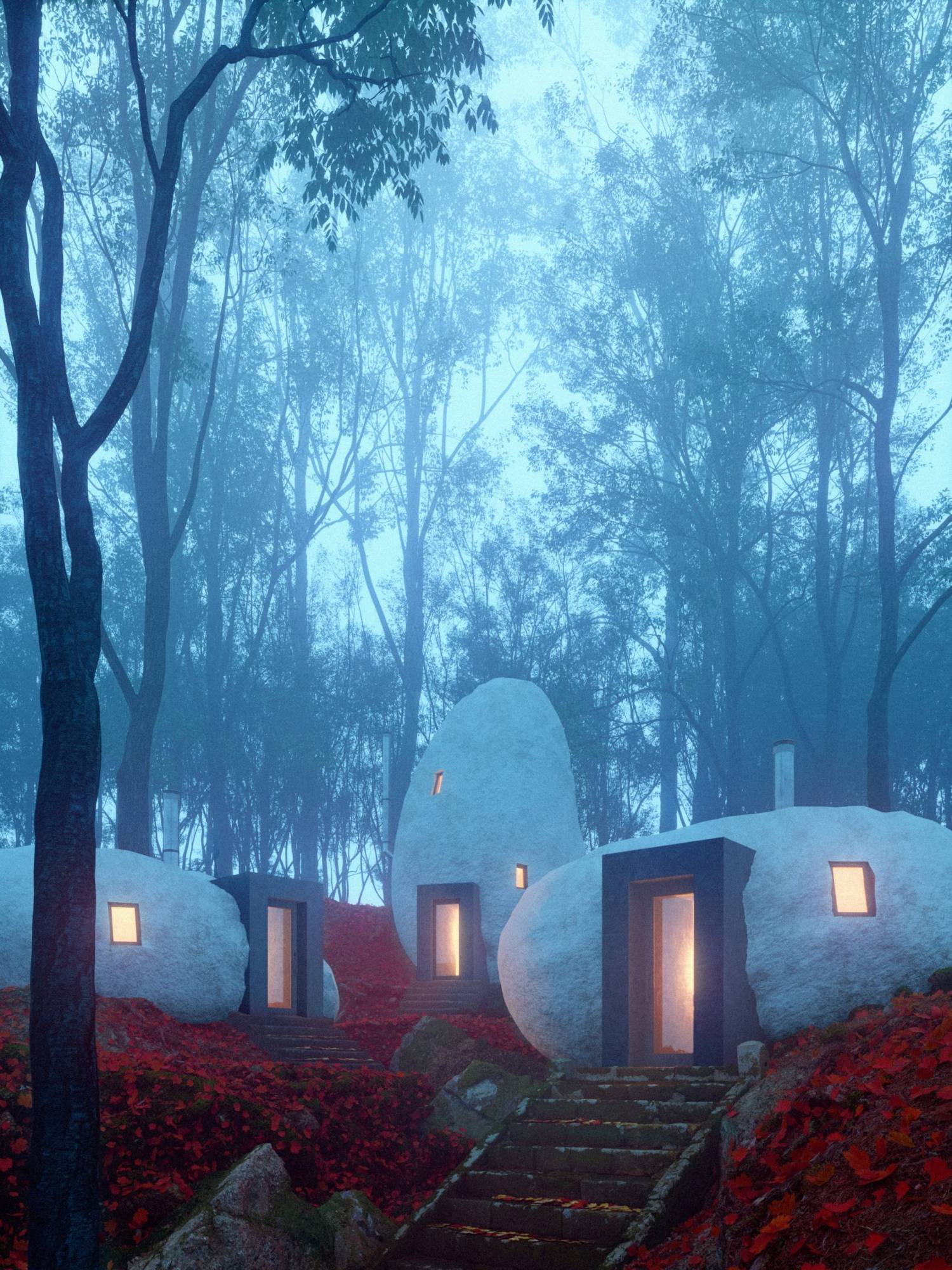 davit y mary jilavyan son los creadores del hotel boutique dolmen shelter 8