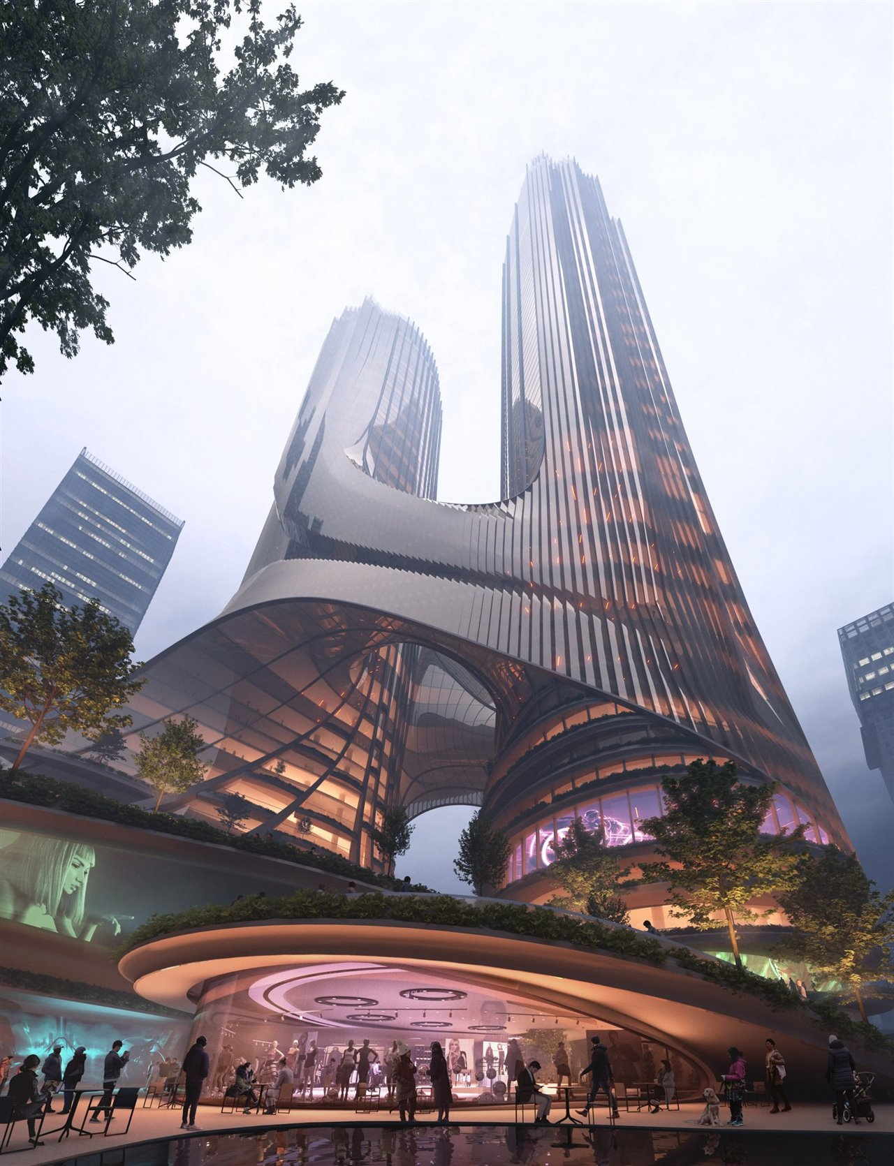 el futuro de las instalaciones de transporte en edificios
